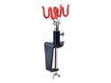 AIRBRUSH HOLDER STAND Holds 2 Airbrushes Clamp-On Table Mount Paint Hobby Kit