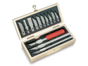 NEW X-ACTO Basic Knife Set - Hobby Art Craft Cutting Carving Tool ELM X5082