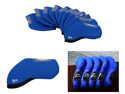 Bundle Monster 10pc Neoprene Golf Iron Club Head Cover Protection Case Set-Blue