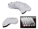 Bundle Monster 10pc Neoprene Golf Iron Club Head Cover Protection Case Set-Gray