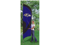 Baltimore Ravens 8' Tall Tailgate Flag