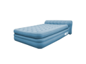 Aerobed 76321 Elevated Headboard Blue Inflatable Air Bed Mattress, Twin Size