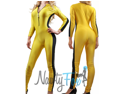 Yellow Kill Bill Bruce Lee Game of Death Jumpsuit,Bodysuit, Unitard Costume