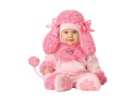 Infant Baby Girls Pink Poodle Puppy Dog Halloween Costume