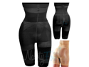 Black Tummy Control Girdle Body Shaper High Waist