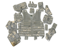 GXG Tactical X Paintball Vest Molle 11 Attachments ACU