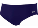 Dolfin Solid Polyester Brief Male Navy 38