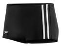 Speedo Stripe Square Leg Male Black 38