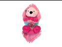 "Pink Sea Otter Blanket Babies 11"" by Fiesta"