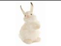 """Baby White Rabbit 12.6"""" by Hansa"""