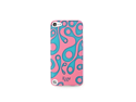 iLuv Glow-in-the-dark case for iPod Touch 5 - Pink/Blue ICA6T311PNK