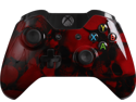 Custom Xbox One Controller Special Edition Red Skullz Controller