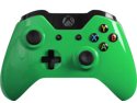 Modded Xbox One Controller: Glossy Green Master Mod Compatible with Titanfall, Call of Duty: Ghosts and Battlefield 4