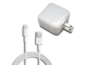 12W AC Home Wall Charger + 8 Pin Lightning Cable for iPad Mini iPad 4 Retina iPad Air iPhone 5 5C 5S