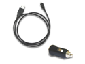 Micro USB Data Cable + Car Charger for Cicinnati Bell HTC Radar Sensation
