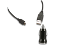 Car Charger + Micro USB Data Cable for HTC Vision Sensation 4G XL Status Trophy