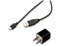AC Wall Charger + USB Sync Data Cable for Samsung Galaxy POP Plus GT S5570i