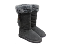 Ukala by Emu Australia Jessica High Charcoal Womens  Boots