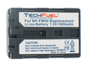 Sony DCR-TRV345 Camcorder Battery, New TechFuel NP-FM50 Battery