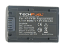 Sony HDR-CX560V Camcorder Battery, New TechFuel NP-FV50 Battery