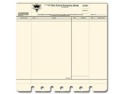 "Die-Cut & Perforated Papers 12""X12""-Bank Statement"