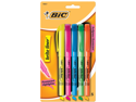 Bic Brite Liner Highlighter Asst 5 Pk BLP51W-AST12- Pack of 6