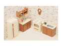 Greenleaf 7205 Kitchen Dollhouse Furniture Kit