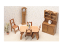 Greenleaf 7202 Dining Room Dollhouse Furniture Kit