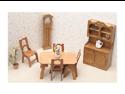 Greenleaf 7202 Dining Room Dollhouse Furniture Kit