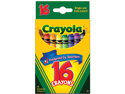 Binney & Smith 523016 Classic Color Pack Crayons  Wax  16 Colors per Box