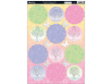 "Seasons Die-Cut Punch-Out Sheet 8""X12""-Woodland Toppers Pink"