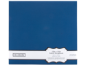 "Colorbok Fabric Albums 12""X12""-Navy"