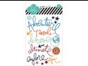 No Limits Buzz Words Epoxy Stickers 17/Pkg-