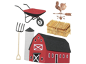 Jolee's Boutique Dimensional Stickers-Barnyard