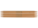 "Bamboo Double Point Knitting Needles 7"" 5/Pkg-Size 2"