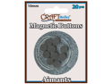 Magnetic Buttons On Mirror-10mm 20/Pk