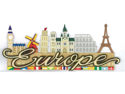 Jolee's Boutique Title Wave Stickers-Europe