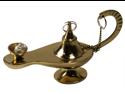 DECORATIVE GENIE LAMPS - Aladdin Lamp - SOLID BRASS