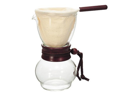 Hario Cloth Drip Pot Pour Over Coffee Maker Wood DPW-1