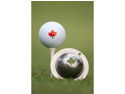 Tin Cup Maple Leaf Golf Ball Custom Marker Alignment Tool