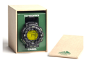 Casio PAG240-1B Triple Sensor Solar Pathfinder Green Digital Resin Strap