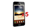 x5 lcd screen protetcor film guard for samsung galaxy note
