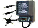 NEW NIPPON DV3467 AC/DC 300mA POWER ADAPTER 6 WAY UNIVERSAL PLUG