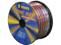 NEW Q POWER 12GA25FTSFLEX 12 GA 25' SPOOL CAR AUDIO SUPER FLEX SPEAKER WIRE