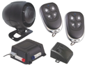 NEW SCYTEK G20 KEYLESS ENTRY CAR ALARM SYSTEM W/ 2 4-BUTTON TRANSMITTERS