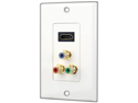 Pyle Home Audio Video Wall Plate - PHDMRCF3