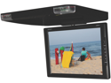 "Legacy - 14"" TFT Flip Down Roof Mount Monitor w/ Built-In DVD/MP3/MP4  Compatible Player w/ Wireless FM Modulator & IR Transmitter"