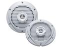 "New Kenwood Kfc-1652Mrw 6-1/2"" 2-Way 300W Marine Speaker Pair 6.5"" White"