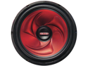 "New Xxx Xx1240 Red Custom Poly Cone 12"" 400W Car Audio Subwoofer Sub 400 Watt"