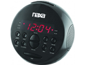 NEW NAXA NRC172 ALARM CLOCK WITH AM AND FM RADIO